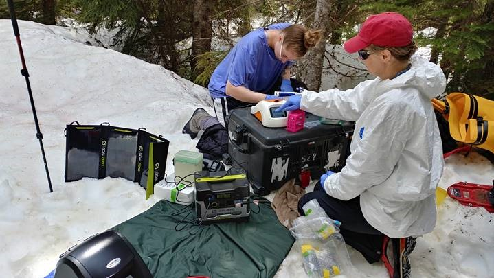 University of Tennessee Researchers Test Capability of New Luminometer During Glacial Analysis of Watermelon Snow